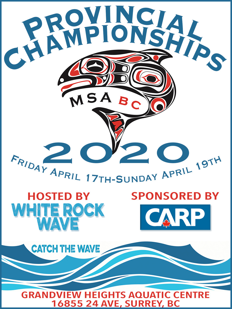 Swim at the Provincial Championships